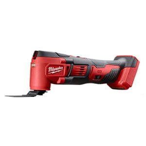 Milwaukee Lithium Ion Cordless OPM Orbiting Multi Tool with Woodcutting Blades and Sanding Pad with Sheets Included (Battery Not Included, Power Tool Only)
