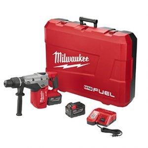 Milwaukee M18 FUEL 1-9/16″ SDS Max Hammer Drill Kit