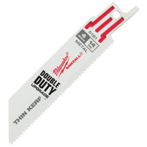 "4"" 14 TPI SAWZALL® Blades (5 Pk)"