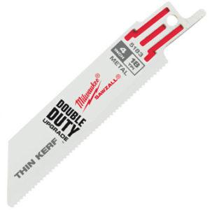 "4"" 18 TPI SAWZALL® Blades (5 Pk)"