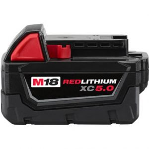 M18 18-Volt Lithium-Ion XC Extended Capacity Battery Pack 5.0Ah