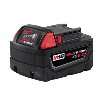 Milwaukee M18 REDLITHIUM XC6.0 Battery Pack