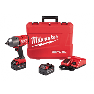 Milwaukee 2766-22 M18 FUEL High Torque 1/2″ Impact Wrench with Pin Detent Kit