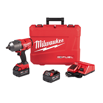Milwaukee M18 FUEL High Torque 1/2″ Impact Wrench with Friction Ring Kit