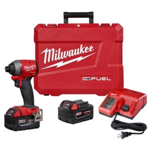 "Milwaukee -22CT M18 GEN 3 FUEL 1/4"" Hex Impact Driver Kit"