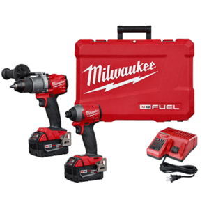 Milwaukee M18 FUEL 2-Tool Combo Kit Hammer Drill/Impact