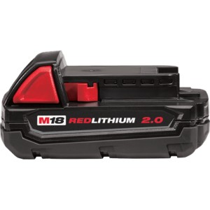 Milwaukee® 48-11-1820 18V Li-Ion M18 Battery 2Ah Compact