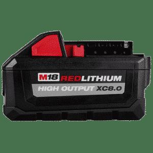 M18™ REDLITHIUM HIGH OUTPUT™ XC8.0 Battery