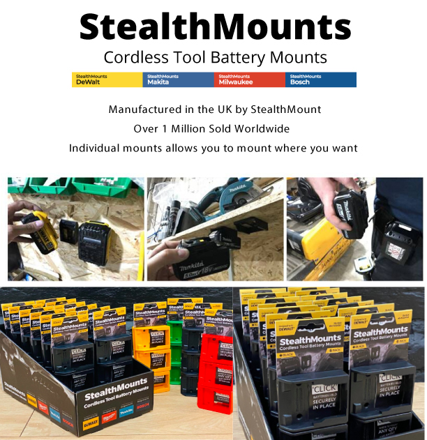 Stealth Mounts Are Now Available At Fastening house Atlantic